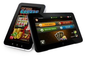 online gokken op laptop