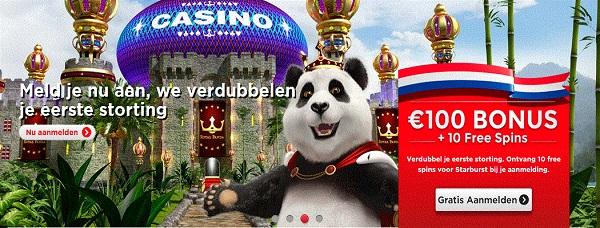 gokken bij royal panda casino