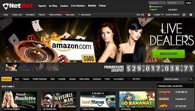 website gokken bij netbet casino