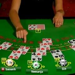Mimic the dealer. De dealer imiteren bij blackjack. Goed of slecht idee?