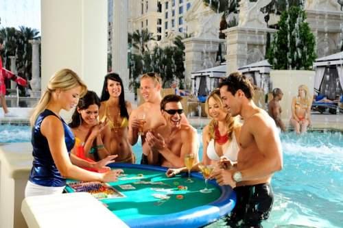 las vegas dresscode casino caesars palace pool blackjack