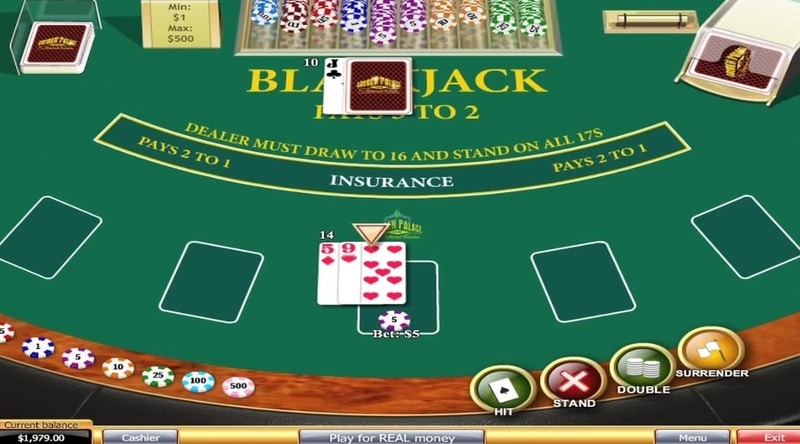 De blackjack surrender regels