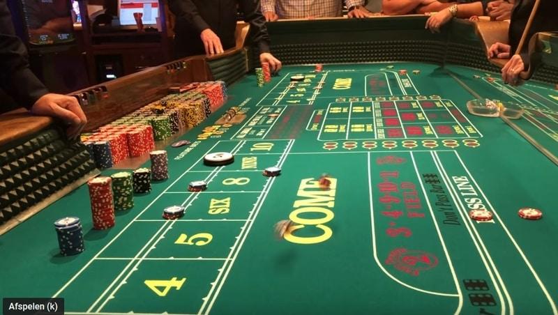 De casino craps spelregels